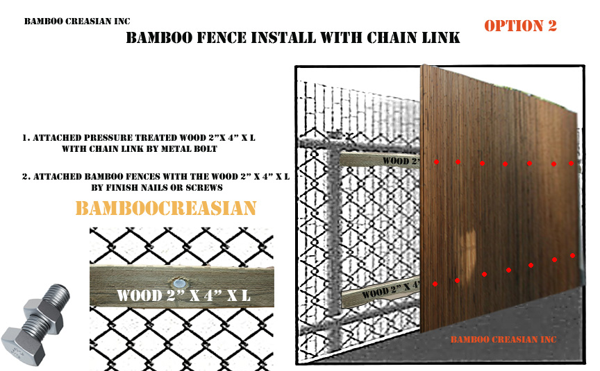 Carbonized Bamboo Fences Bamboo Fences Privacy Amp Garden
