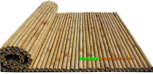 Bamboo Fences Natural High Quality Fencing Panel Rolls
