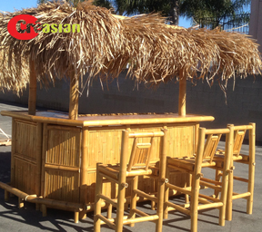 Nice ECO BAMBOO TIKI BARS SET  FREE SHIPPING