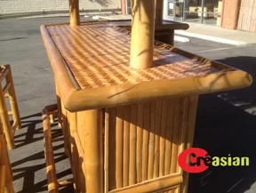 Bamboo Tiki Bar Outdoor Tiki Bar