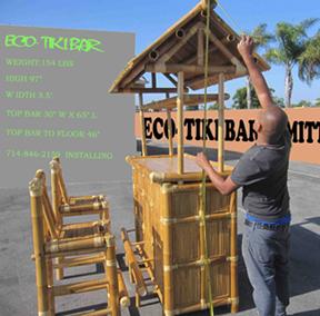 Bamboo Tiki Bar - Outdoor Tiki Bar