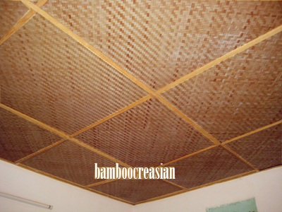 Bamboo Wall Covering Matting For Interior Walls