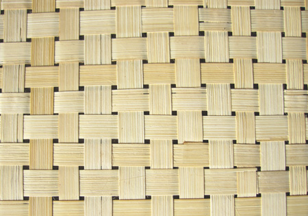 Bamboo Matting Basket Open Weave Wall Covering