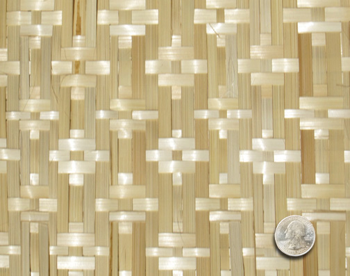 Bamboo Matting Hidden Diamond Natural Walls Interior