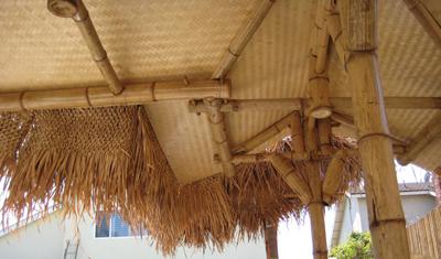 Bamboo Matting Bamboo Wainscoting