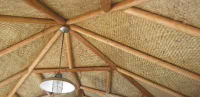 Bamboo Roof Sheets Amp Pergola Roofing Design Ideas From The
