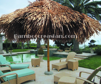 Bamboo Umbrella Pulley System - Bamboo Palapa
