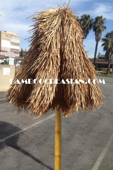 Bamboo Umbrella Pulley System Bamboo Palapa
