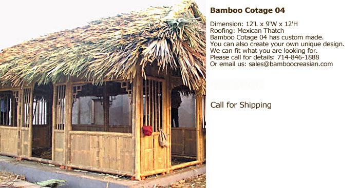 Bamboo Tiki Hut Bamboo Tea House