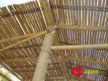 Bamboo Patio Cover Model 1