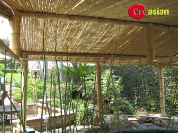 Bamboo Patio Cover Model 2